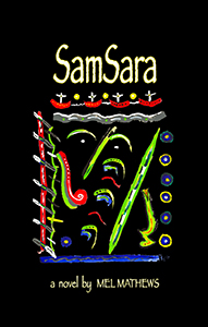 front book cover image of SamSara by Mel Mathews